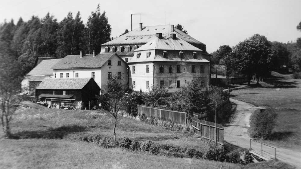 """""""Hammermühle"""" in Haslau, Tschechien."""
