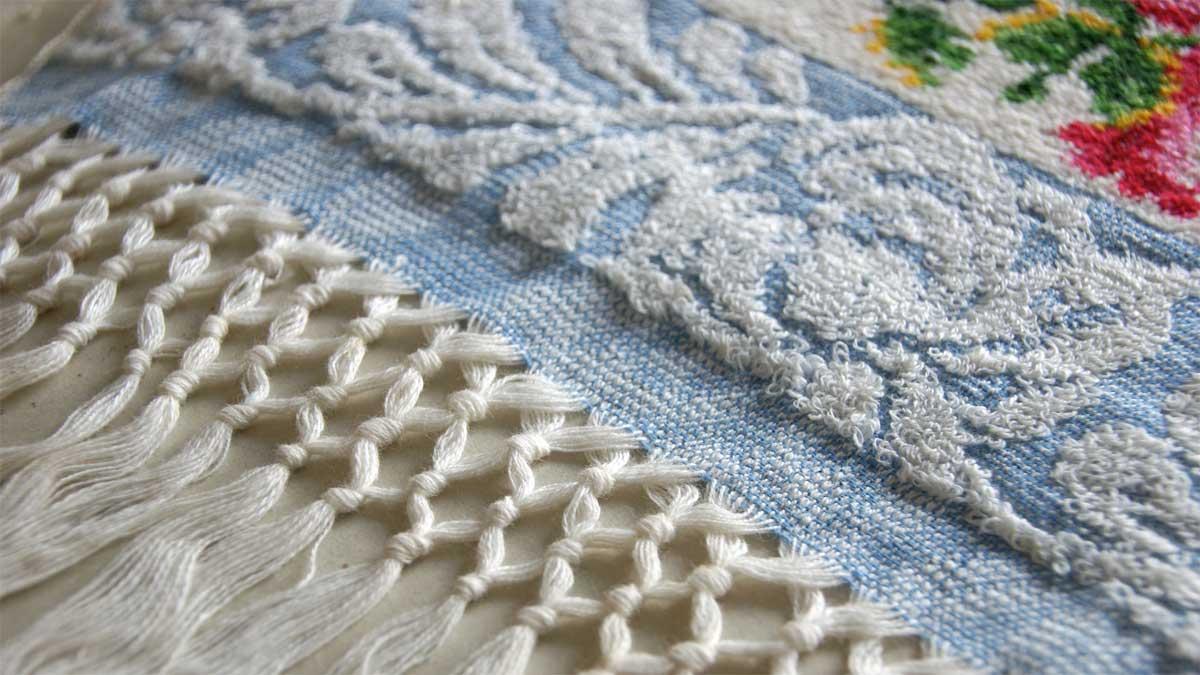 Objekt aus den Musterbüchern der Firma Graumann. Foto © Textiles Zentrum Haslach / Andreas Hollinek.